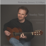 Stanley Yates Concert –  Jan 12 2010