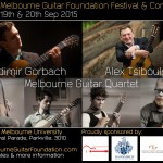 Melbourne International Guitar Festival and Competition Sept 19 & 20